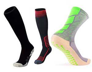 Calcetines de fútbol según su uso